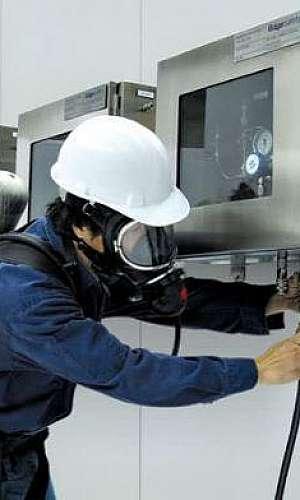 Assistência técnica de equipamentos de proteção respiratória